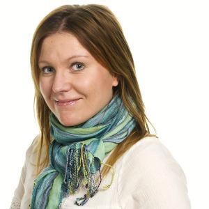 Katja Johansson är reporter och arbetar för Svenska Yle.