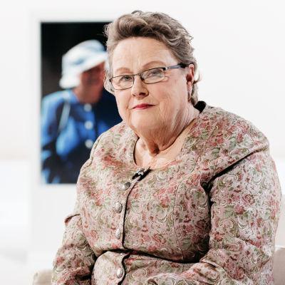 Helena Ranta Itse asiassa kuultuna -ohjelmassa.