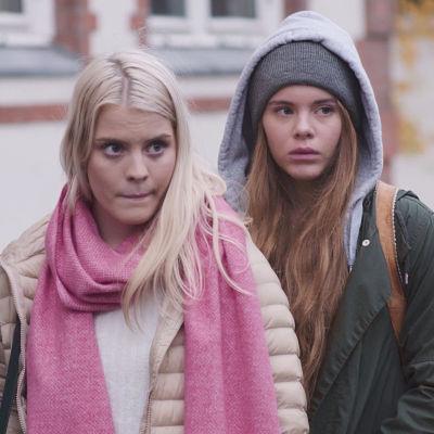 Noora, Vilde & Eva i dramaserien Skam.