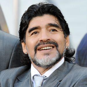 VM-kvartsfinalen mot Tyskland 2010 blev Diego Maradonas sista match som förbundskapten.