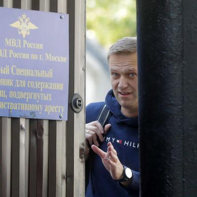 Den ryske oppositionsledaren Aleksej Navalnyj 23.8.2019