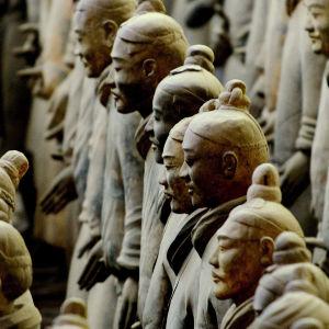 Uudet löydöt antavat lisää tietoa Kiinan oloista yli 2200 vuotta sitten. yle tv1
