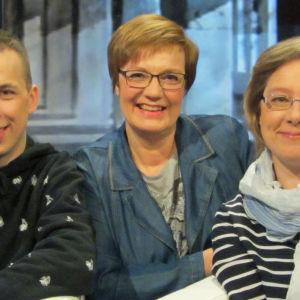 Niklas Hallman, Hilla Blomberg, Sari Kiiski