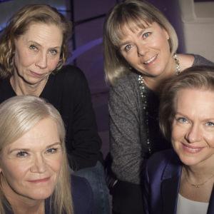 Inhimillisen tekijän kevätkauden aloitusjaksossa Anne Flinkkilän vieraina ovat näyttelijä Kati Outinen, yrittäjä Minna-Liisa Vesanen ja ex-kansanedustaja Päivi Lipponen.