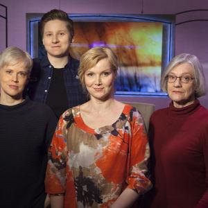 Muunsukupuolisuudestaan kertovat Niina Hartikainen ja Anne Liljeström. Mukana myös psykiatri Veronica Pimenoff.