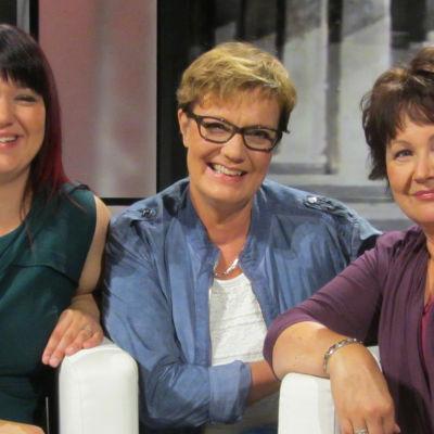 Katja Sarkama (vas.), Hilla Blomberg, Heidi Murtola-Tamminen