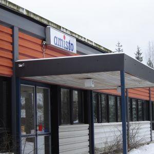 Ingången till Amisto i Lovisa