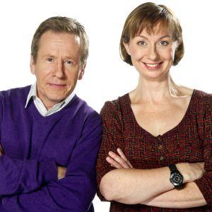 Seppo Puttonen ja Nadja Nowak. Kuva:Yle