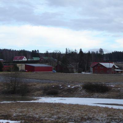 Hus på landsbygden