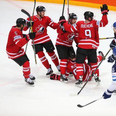 Suomi Kanada MM-finaali 2016