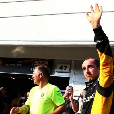 F1-paluuta tekevä Robert Kubica kuvassa