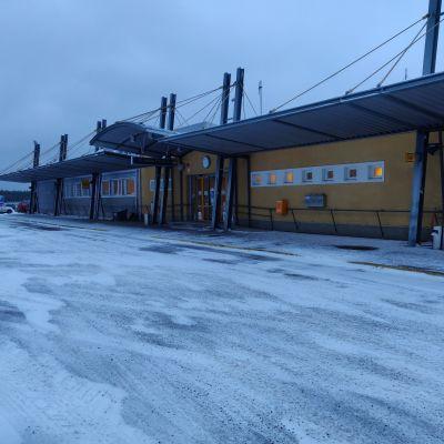 Kokkola–Pietarsaaren lentoasema.