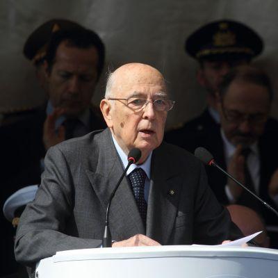 President Giorgio Napolitano