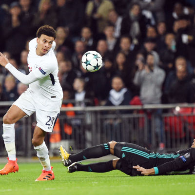 Dele Alli dominerade när Tottenham slog Real Madrid i Champions League.