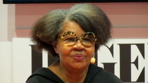 Den amerikanska författaren Jamaica Kincaid.