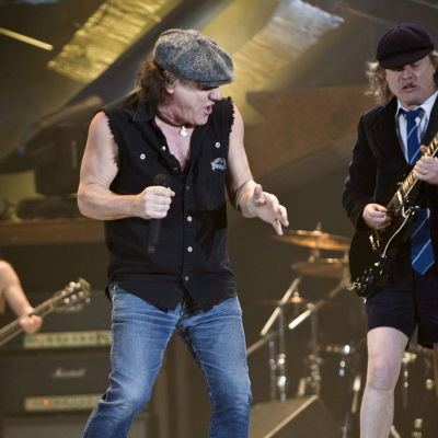 Brian Johnson och Angus Young kunde ta pension.