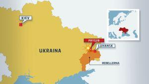 En OSSE-medarbetare dödades och en skadades när deras patrullfordon körde på en fordonsmina i den rebellhållna Luhansk-regionen i östra Ukraina den 23 april 2017.