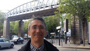 Yves Prélot, väljare i franska presidentvalet.