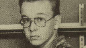 Peter Mangs på skolfoto (foto privat).