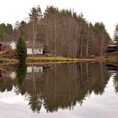 Kuninkaanlähde Köyliössä Säkylässä.