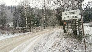 Afrikavägen i Sibbo