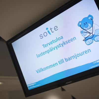 Lastenpäivystys Keski-Pohjanmaan keskussairaalassa