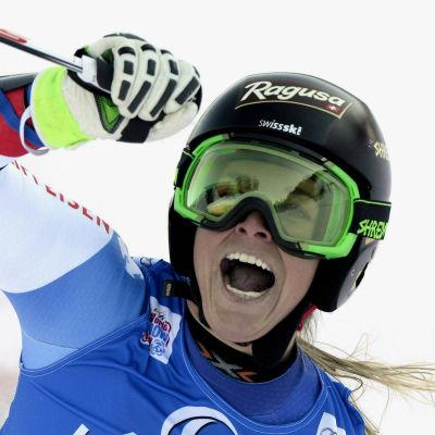 Lara Gut vinner storslalom i Lienz.
