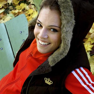 Nyrkkeilijä Eva Wahlström 25-vuotiaana vuonna 2005