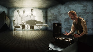 Gustav esittelee sähköshokkia