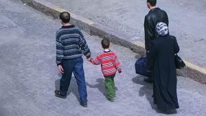 En invandrarfamilj