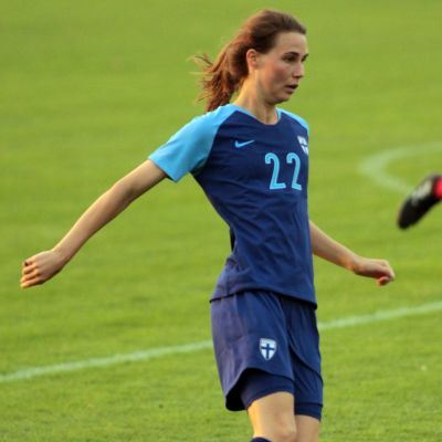 Tiia Peltonen i landslaget