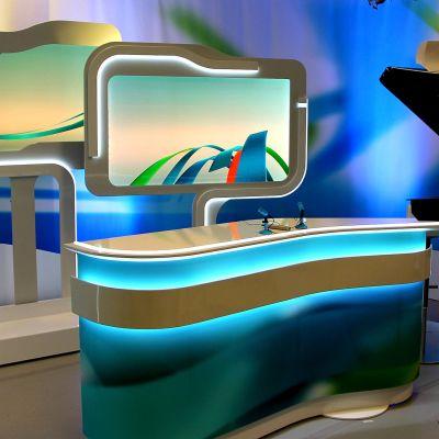 Kaakkois-Suomen Yle uutisten tv-studio Lappeenrannassa