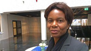 Jeanne Masimango från Demokratiska republiken Kongo har många släktingar och vänner som drabbats av våldet.