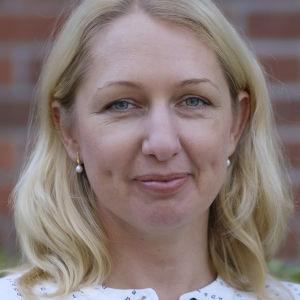 Porträtt på Karin Modig