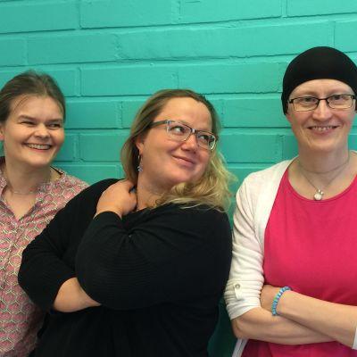 Silja Sahlgren-Fodstad, Kia Svaetichin, Johanna Grönqvist