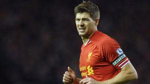 Steven Gerrard, Liverpool.