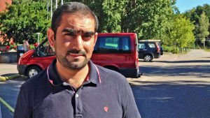 Ammar Al Kaysi från Irak fick uppehållstillstånd i Finland i mitten av december 2015.