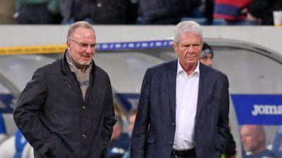 Karl-Heinz Rummenigge och Maezen Dietmar.