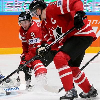 Corey Perry, Matt Duchene och resten av det kanadensiska laget blir en tuff uppgift för Finland.