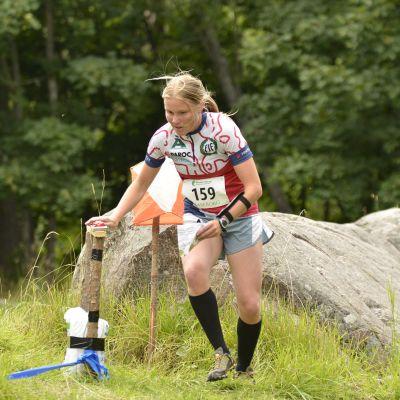 PIF:s Yvonne Gunell är FSO:s sprintmästare 2012.