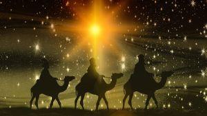 De tre vise männen och Betlehemsstjärnan