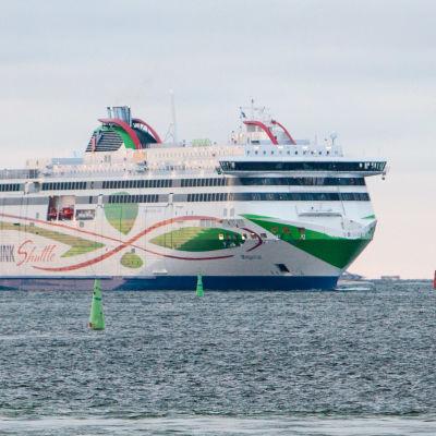 Bild på fartyget Tallink Megastar.