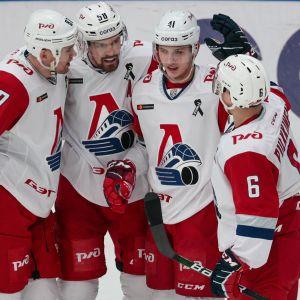 Teemu Pulkkinen har varit glödhet i KHL-slutspelet.