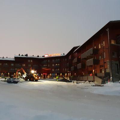 Itä-Rukalle avattiin uusi hotelli jouluksi 2019.