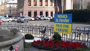 """""""Be för Ukraina""""."""