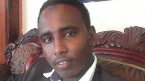 Abdi Nassir, ung juridikstudent i Eastleigh, Nairobi.