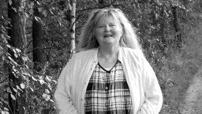 Poeten Kaarina Valoaalto.