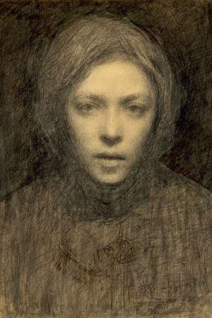 Ellen Thesleff, Självporträtt (1894-1895)