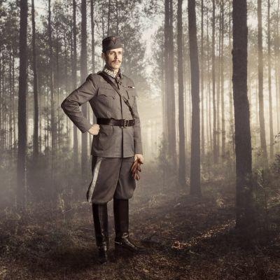 Waltteri Torikka on pääosassa Ilmajoen musiikkijuhlien Mannerheim-oopperassa.