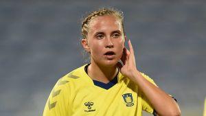 Ria Öling spelar för Bröndby.